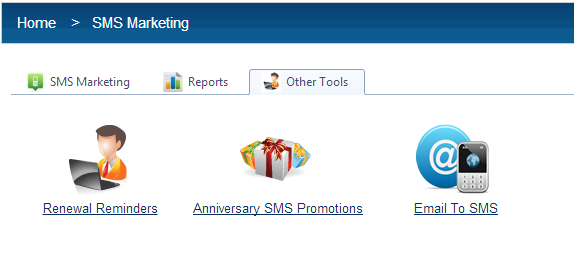 Bulk SMS Custom Features Other Tools