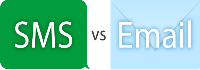 bulk sms vs email
