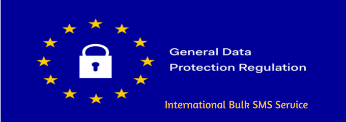 GDPR International Bulk sms services