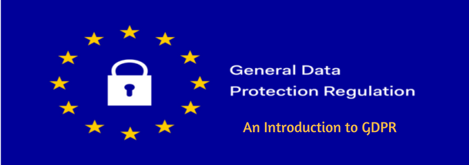 an introduction to gdpr