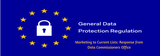 GDPR data commissioner response